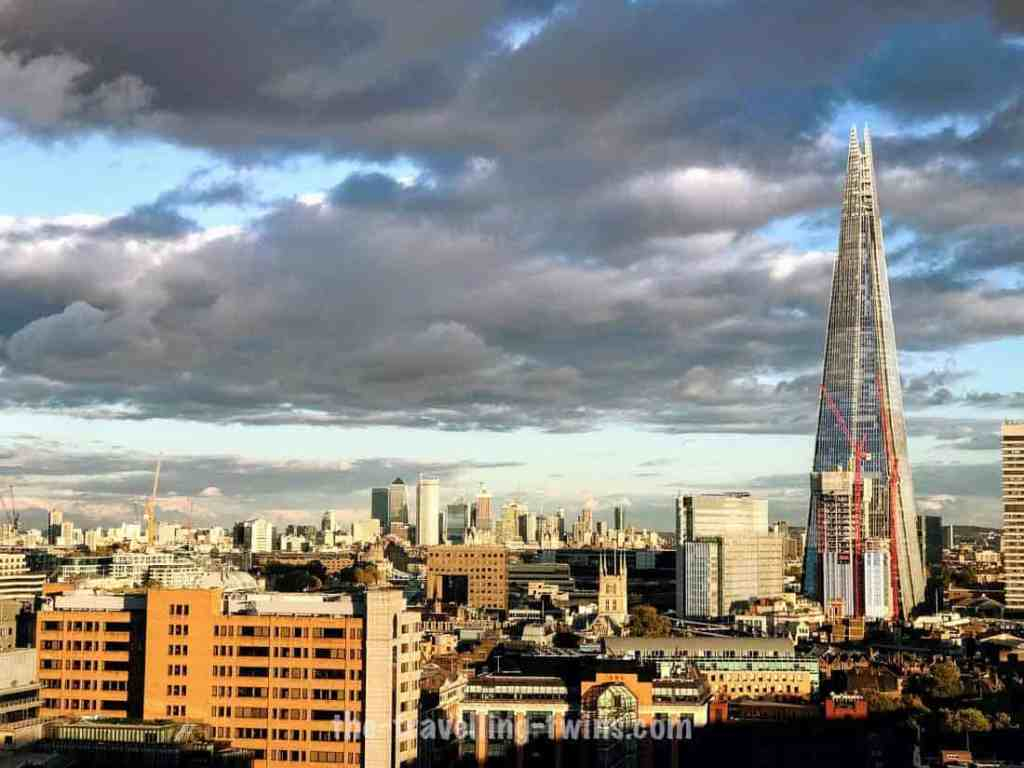 The Shard is one of the most iconic buildings in London