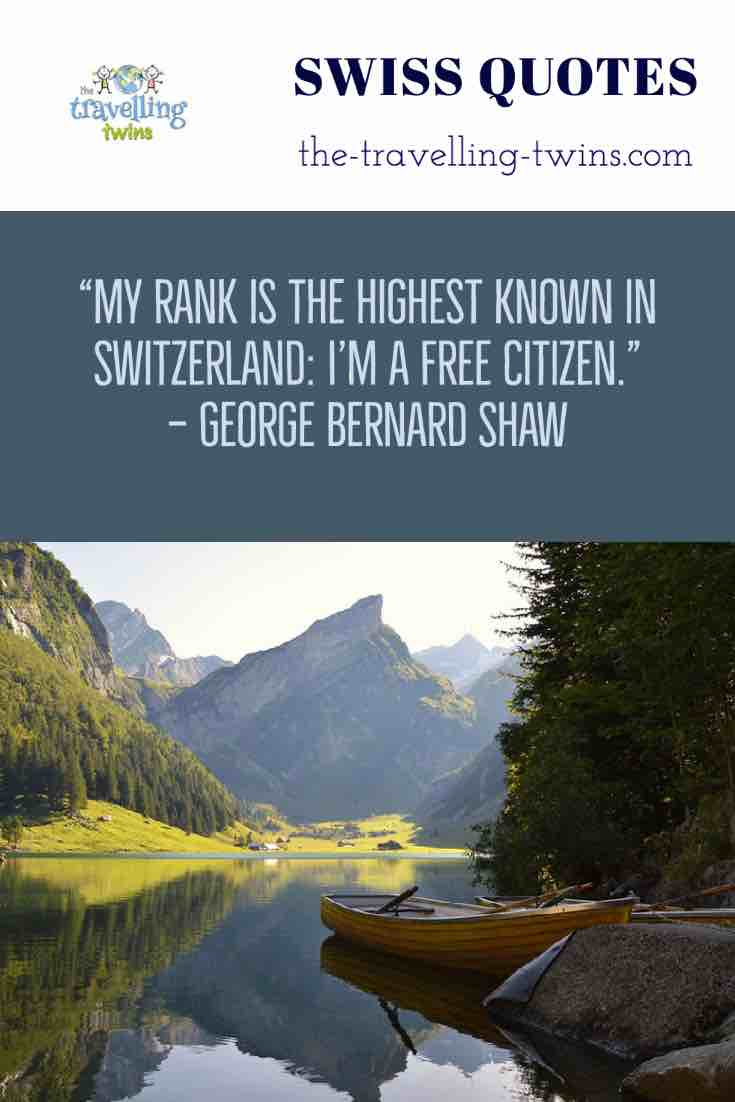 switzerland quotes