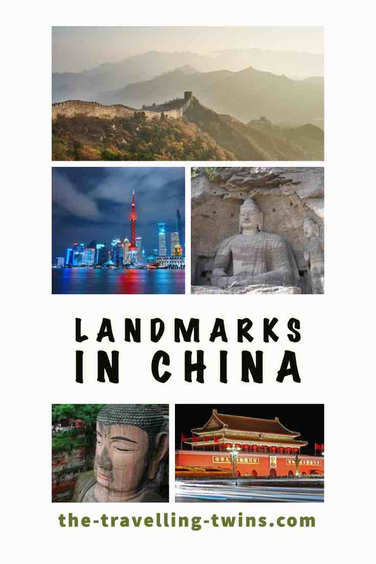 famous landmarks in china
