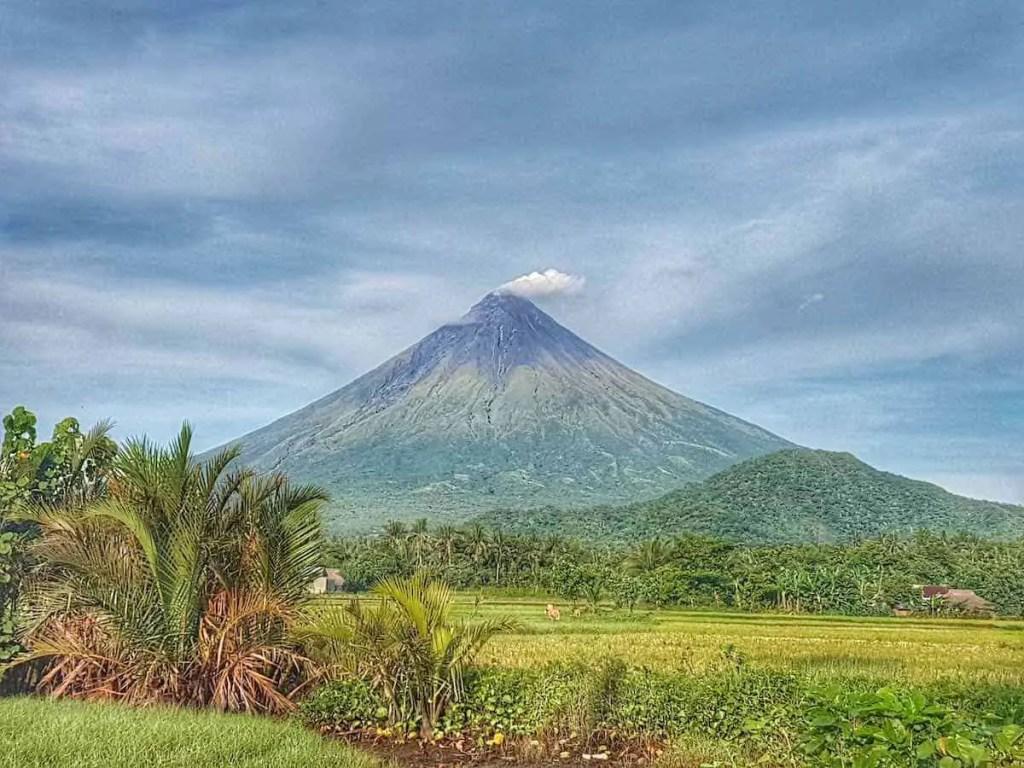 Mayon Volcano, Albay, Philippines - Natular Landmarks in the Philippines