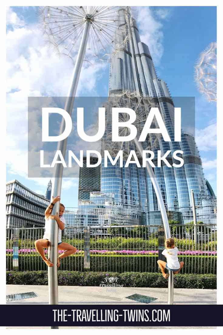 landmarks in Dubai