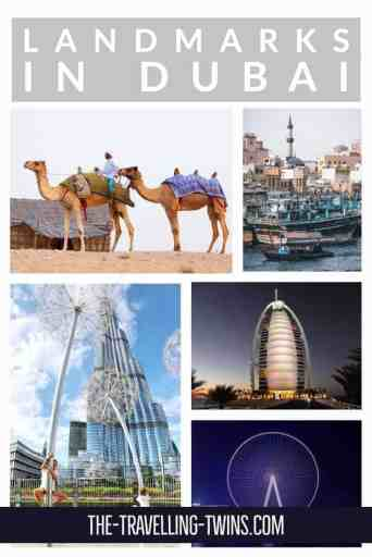 Dubai Landmarks, dubai monuments