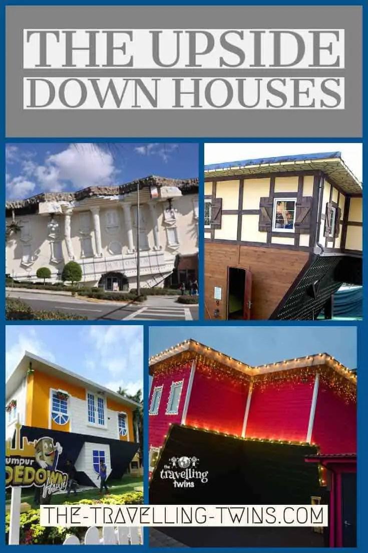 Upside down houses