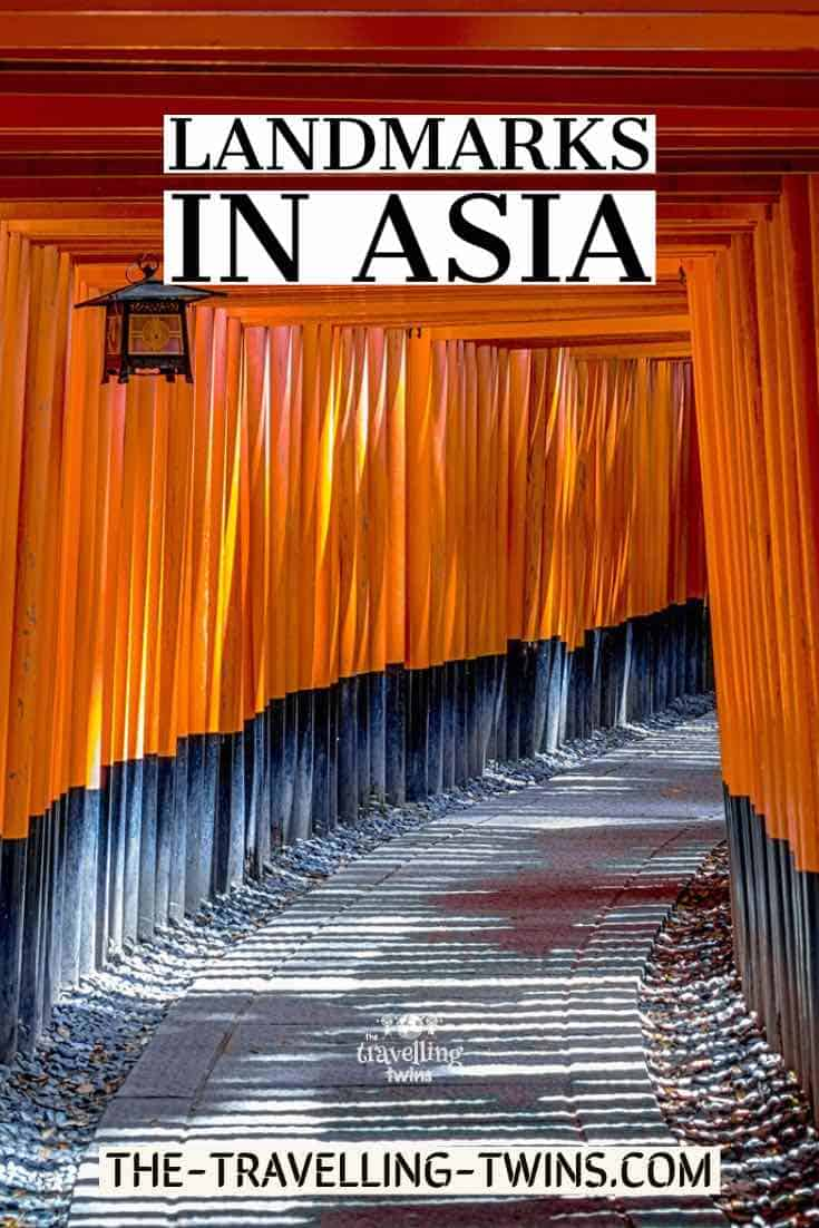 asia landmarks