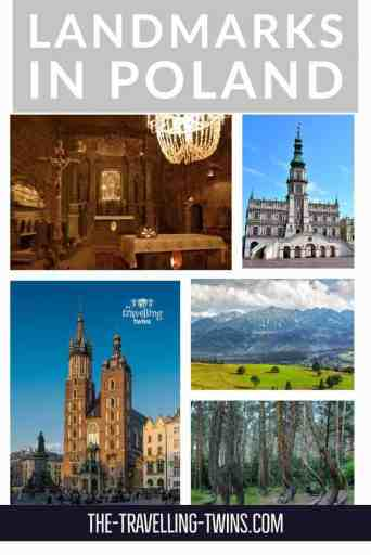 landmarks in Poland