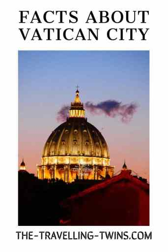 Facts about Vatican City, Rome