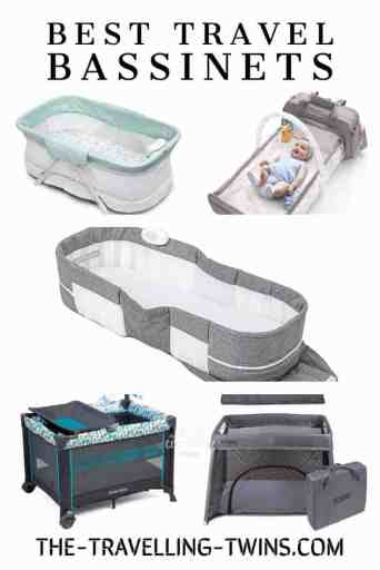 best travel bassinets, best cribs for travels, portable cribs for travel