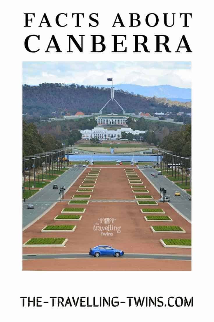 facts about canberra