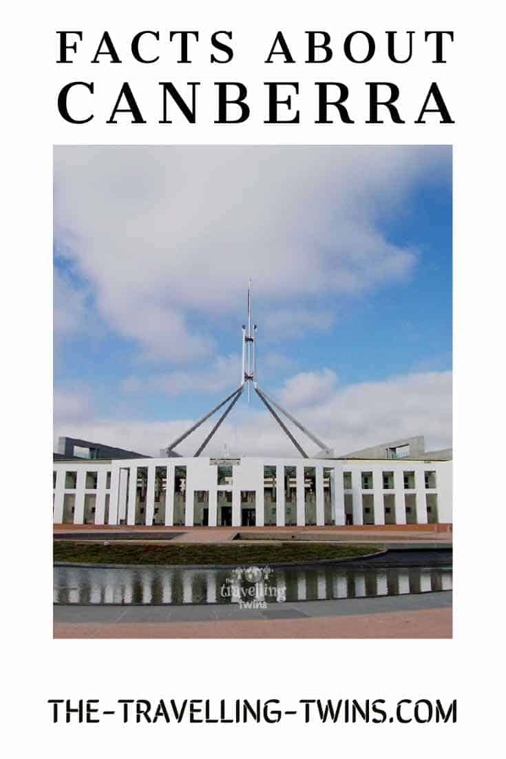 facts about Canberra facts