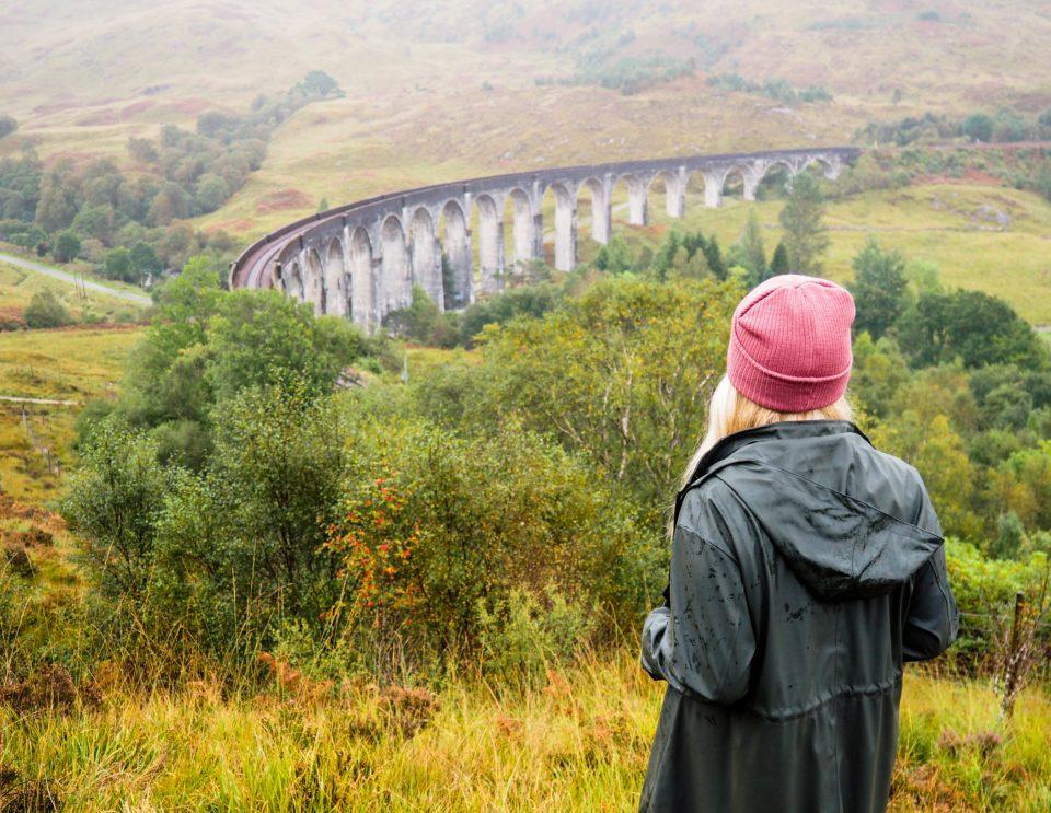 Schottland-Glenfinnan-Viadukt