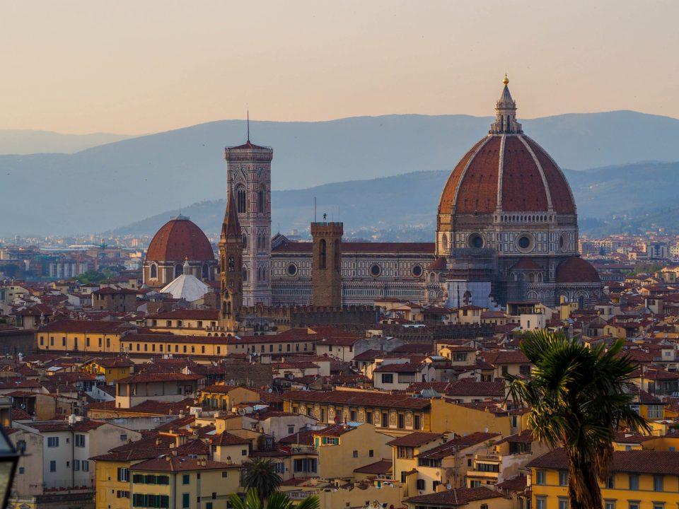 Italien-Florenz-Aussicht
