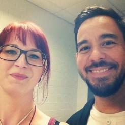 Mike Shinoda und ich