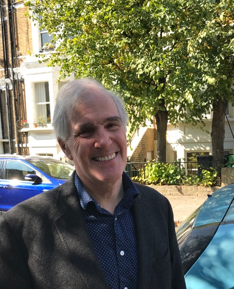 Chesham and Amersham by-election candidate Brendan Donnelly smiling at camera
