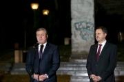 """<h5>Thanks GeoEmbGermany</h5><p>Giorgi Kvirikashvili, Premierminister Georgiens (li), Lado Chanturia, Botschafter Georgiens in Deutschland © <a href=""""https://twitter.com/GeoEmbGermany/status/928663514306277376"""" target=""""_blank"""">Botschaft von Georgien in der Bundesrepublik Deutschland/Twitter</a>                                                   </p>"""