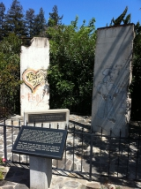 """<h5>Thanks Victorgrigas</h5><p>© <a href=""""http://commons.wikimedia.org/wiki/File:A_portion_of_the_Berlin_Wall_In_Mountian_View,_California.jpg#mediaviewer/File:A_portion_of_the_Berlin_Wall_In_Mountian_View,_California.jpg"""" target=""""_blank"""" >A portion of the Berlin Wall In Mountian View, California</a>"""" by <a href=""""//commons.wikimedia.org/wiki/User:Victorgrigas"""" title=""""User:Victorgrigas"""" target=""""_blank"""" >Victorgrigas</a> - <span class=""""int-own-work"""">Own work</span>. Licensed under <a href=""""http://creativecommons.org/publicdomain/zero/1.0/deed.en"""" title=""""Creative Commons Zero, Public Domain Dedication"""" target=""""_blank"""" >CC0</a> via <a href=""""//commons.wikimedia.org/wiki/"""" target=""""_blank"""" >Wikimedia Commons</a>. </p>"""