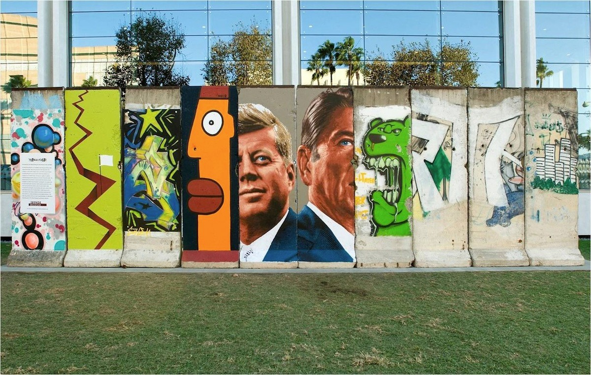 The Berlin Wall in Los Angeles, Florida