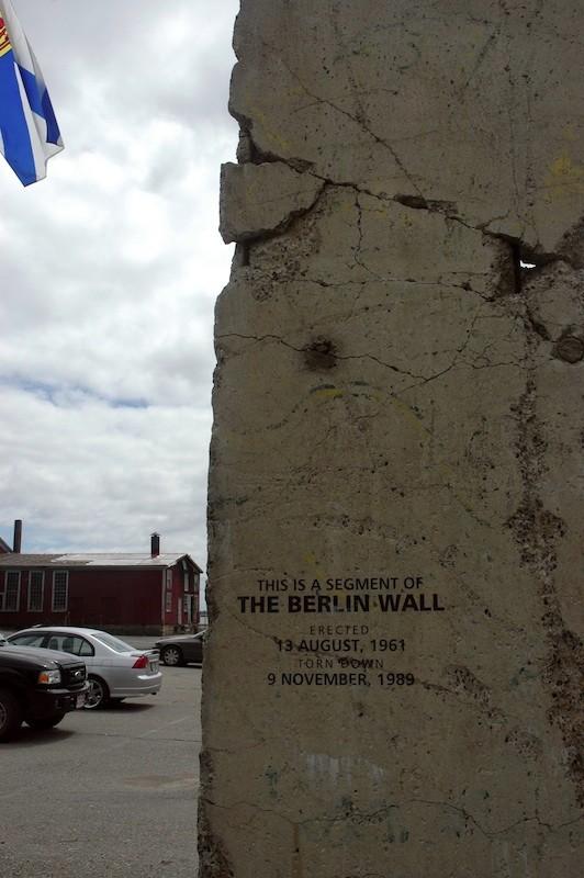 Berliner Mauer in Lunenburg
