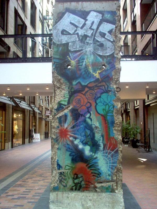 Berliner Mauer in Montreal