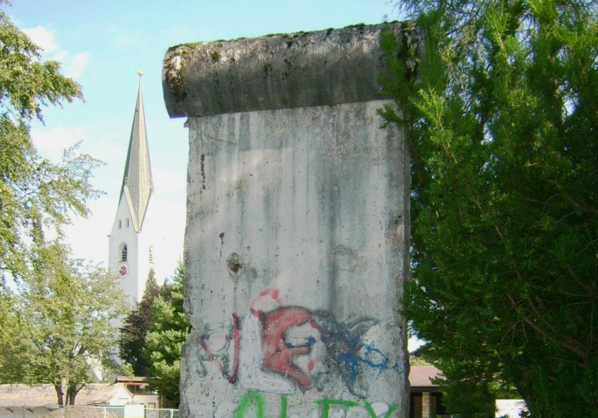 Berliner Mauer in Oberstdorf