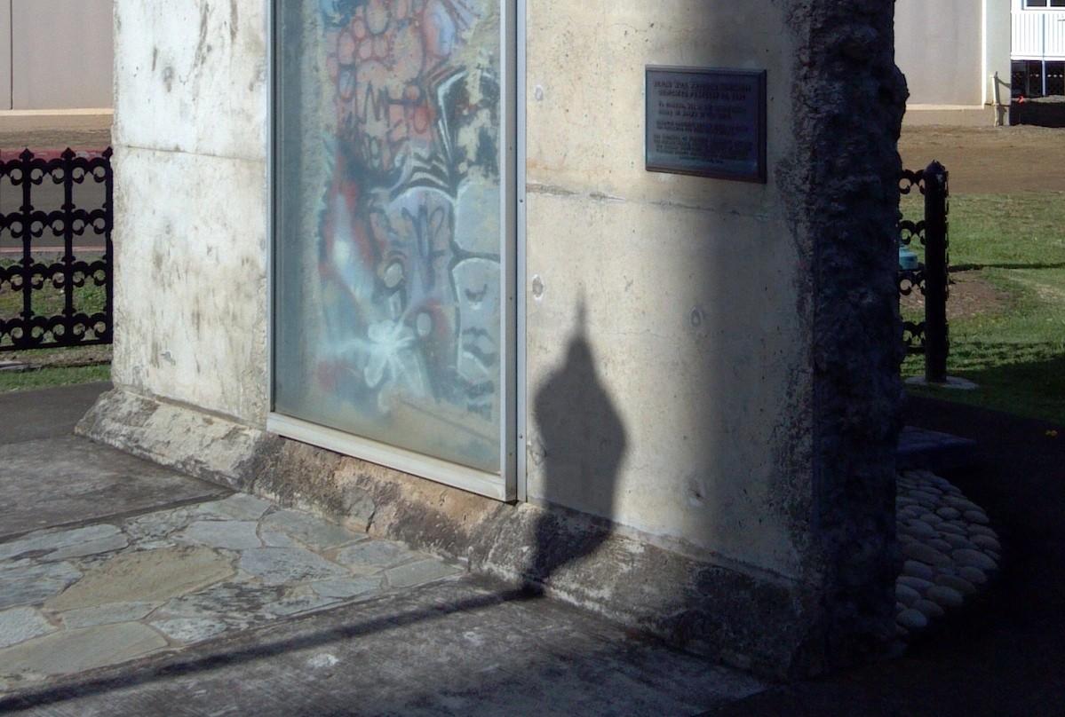 Berliner Mauer auf Hawaii