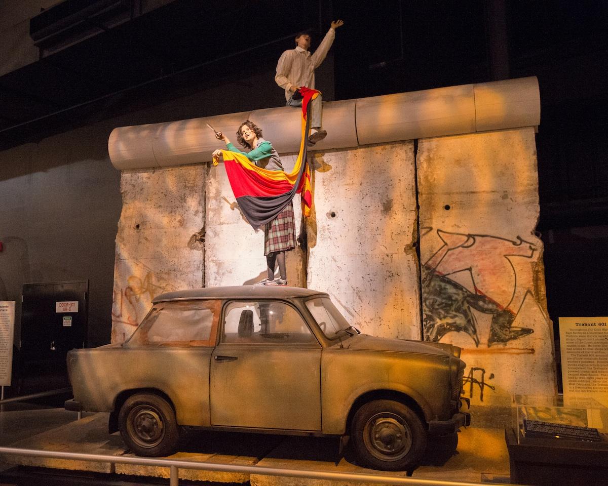Berliner Mauer in Dayton