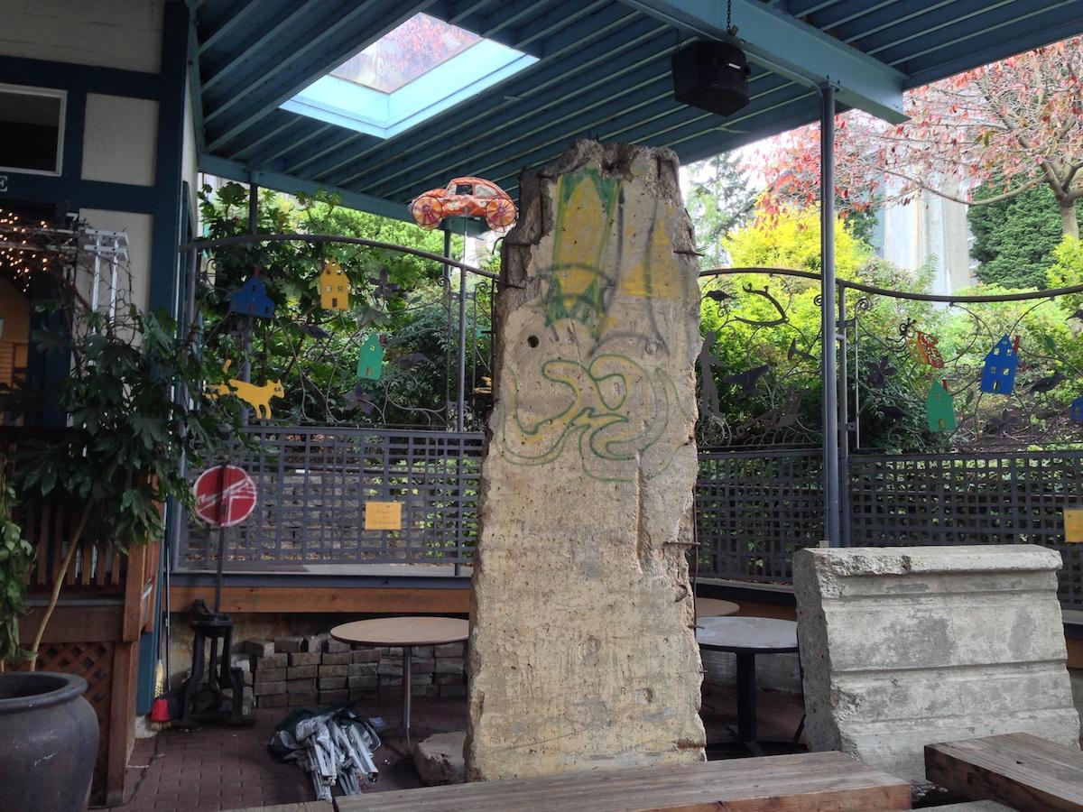 Berliner Mauer in Seattle