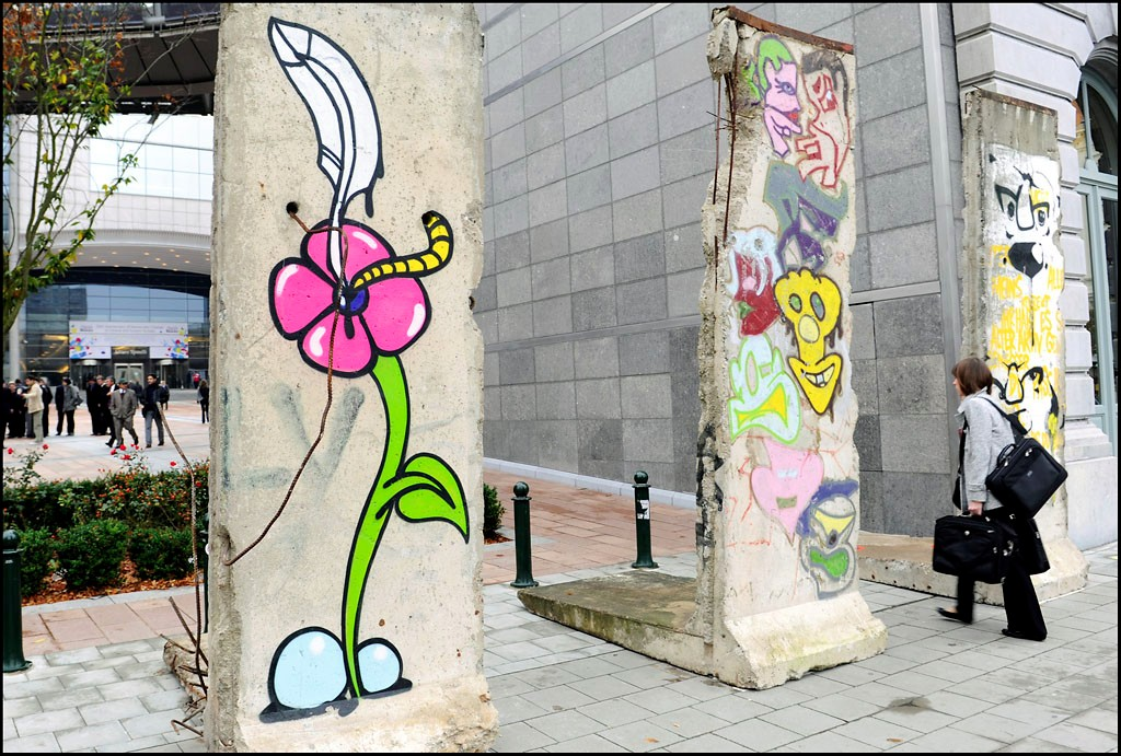 The Berlin Wall in Bruxelles