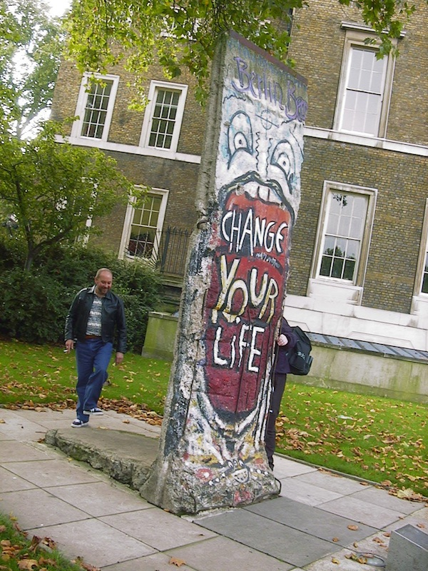 Berliner Mauer in London