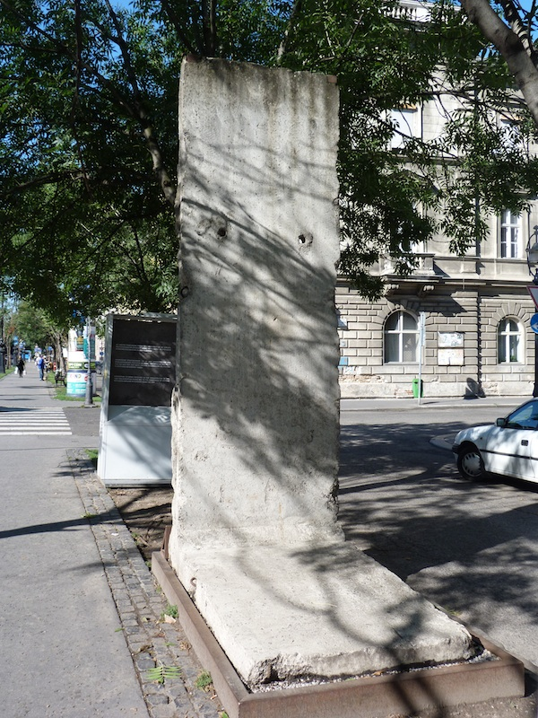 Berliner Mauer in Budapest