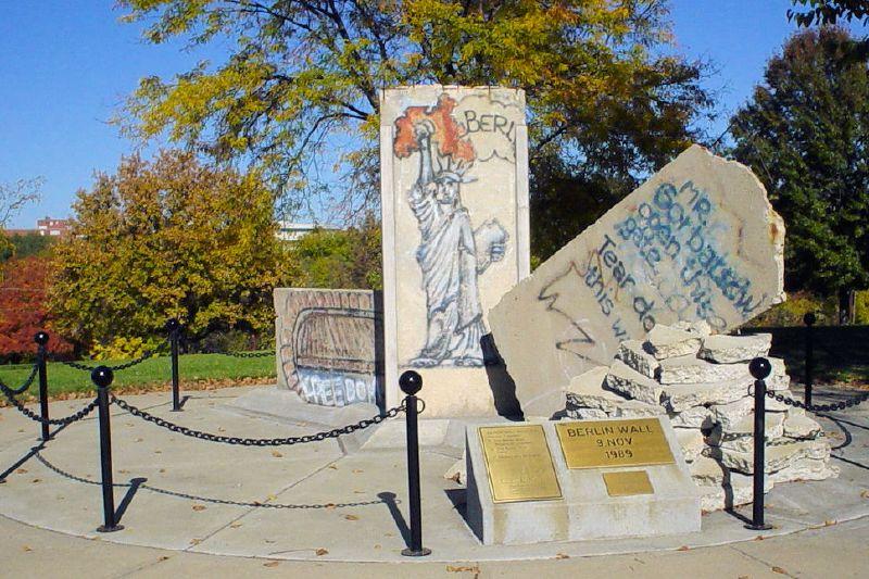 Berliner Mauer in Fort Leavenworth