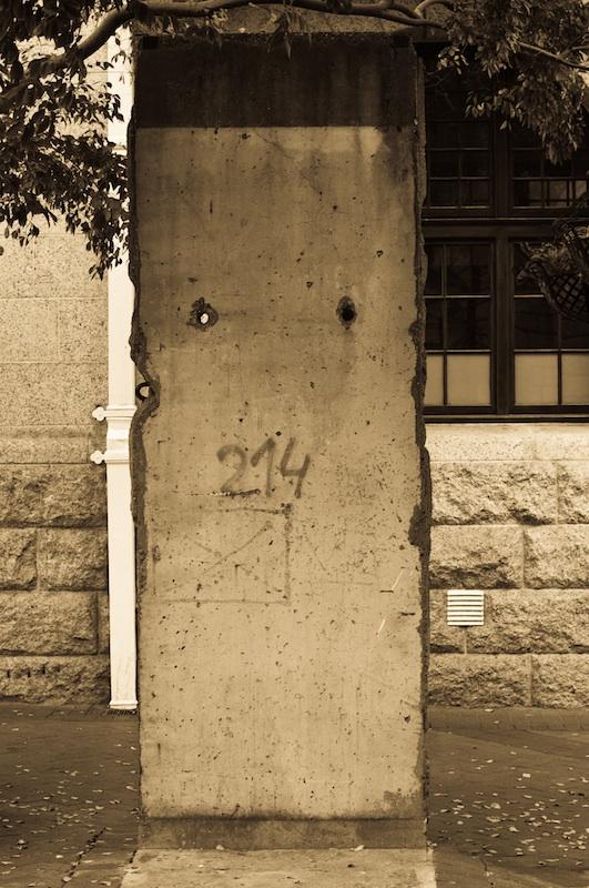 Berliner Mauer in Kapstadt