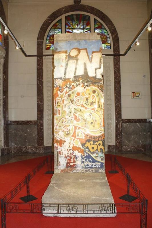 Berliner Mauer in Manila