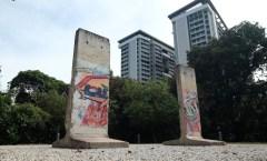 Berliner Mauer in Singapur