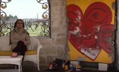 Berliner Mauer in Jarnac, Frankreich