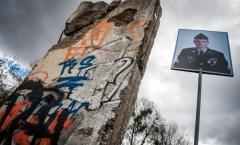 Berlin Mauer in Elblag, Polen