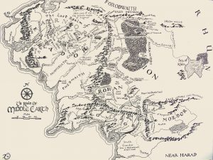Lord Of The Rings Middle-earth