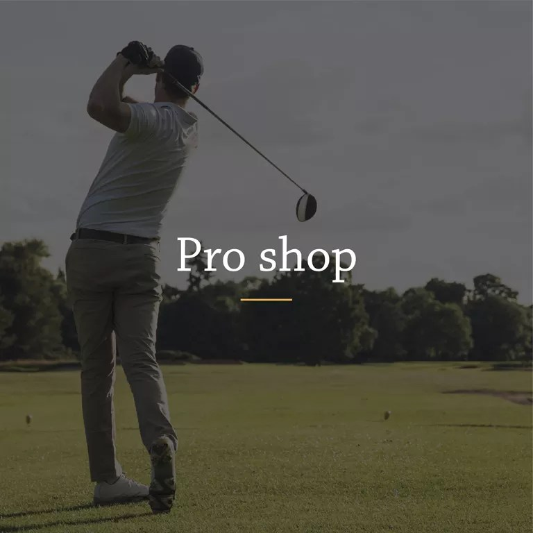 The Wiltshire - Pro Shop Lessons