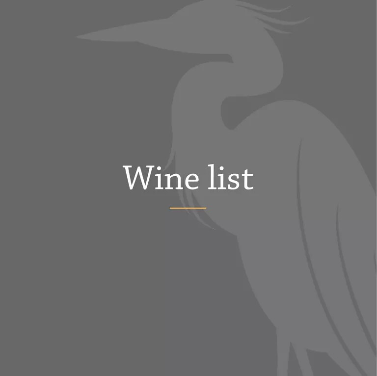 The Wiltshire - Wine List hover