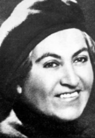 Photo of Chilean poet Gabriela Mistral