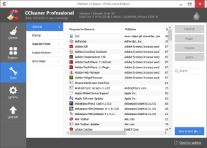 CCleaner pro v5.25.5902 Serial Keys Free Download Full Version