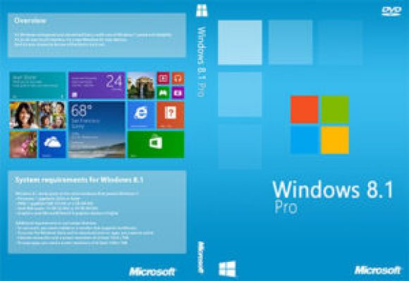 Windows 8.1 Pro Download iso Full Version 32 & 64 bit