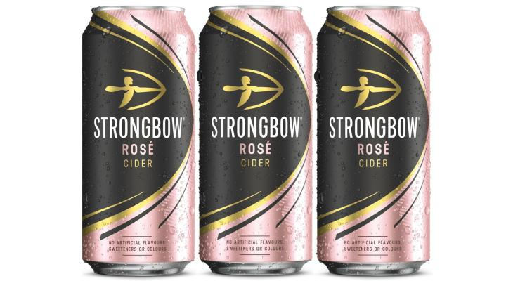 Strongbow Is Releasing A New Rosé Cider Just In Time For Summer