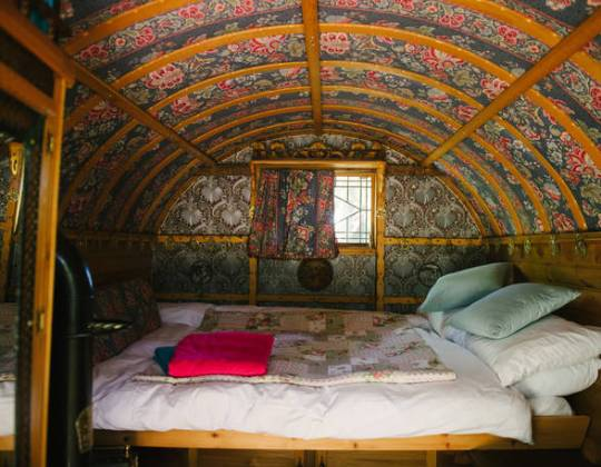 You Can Now Camp In These Mystical Gypsy Caravans By The Yorkshire Dales