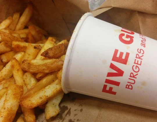 Hundreds Queue At Five Guys In Sheffield For Click & Collect Orders