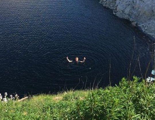 Idiots Swim In Peak District Lagoon Despite Being Toxic To Humans