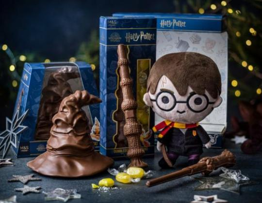 M&S Launches Harry Potter Range With Chocolate Frogs And An Edible Sorting Hat