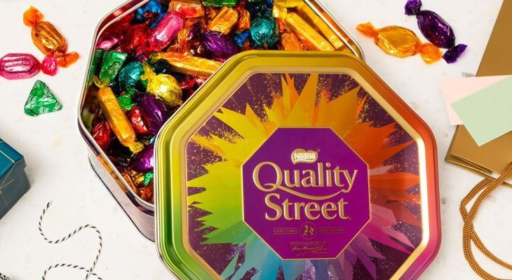 You Can Now Order Personalised Pick N' Mix Quality Street Tins Online