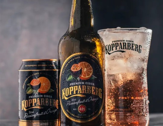Kopparberg Has Launched  A Brand New Passionfruit And Orange Cider
