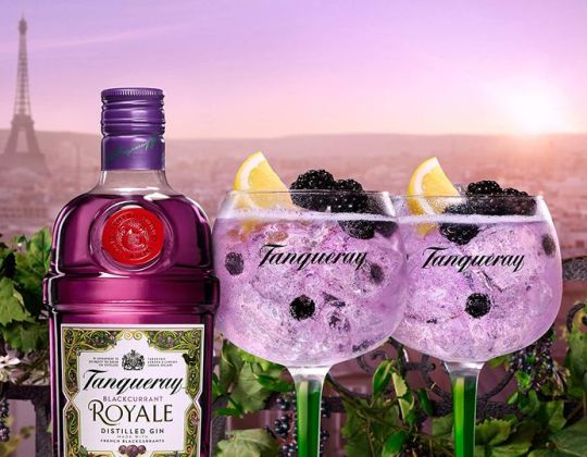 Tanqueray Has Launched A New Blackcurrant Royale Flavoured Gin – Just In Time For Spring
