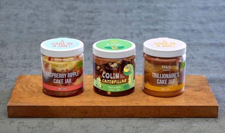 M&S Cake Jars